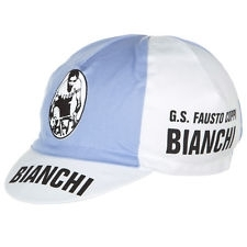 CAPPELLINO CICLISMO OLD STYLE BIANCHI FAUSTO COPPI
